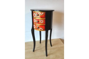"""Mary Poppins"" Unique, painted Italian commode"