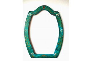 Painted mirror frame  80cm/57cm