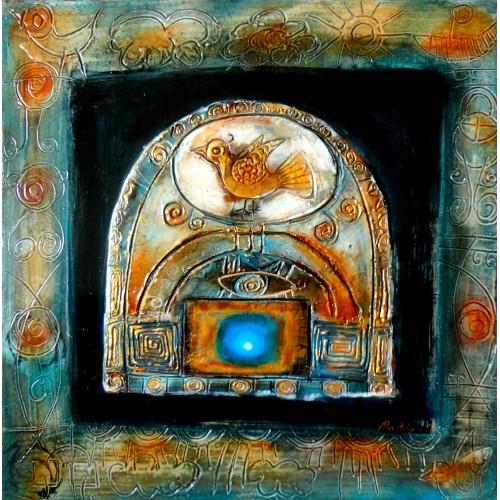 """Felix Albus """"Ancestral Bird"""" 2007"""