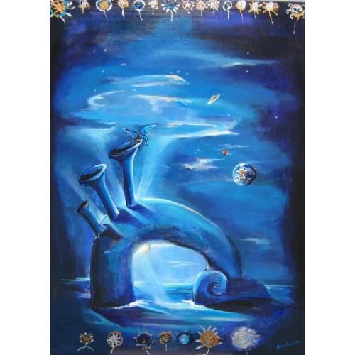 "Felix Albus ""Blue Fantasy 1"" 2003"