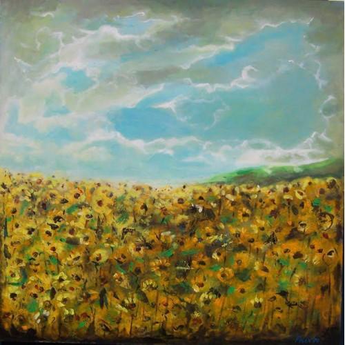 "Felix Albus ""Sun flower field"" 2007"