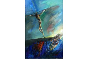 """Felix Albus """"Crucifixion"""" 1999"""