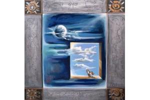 "Felix Albus  ""Cosmic Window"" 2003"