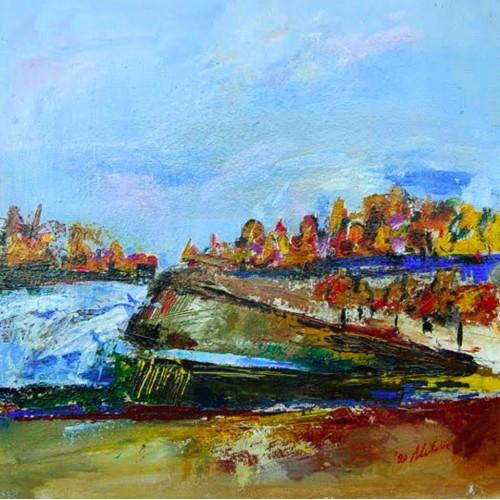"""Felix Albus  """"Landscape 99 """" 1999"""