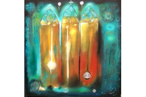 "Felix Albus ""Triptych light"" (renewed 2015)"