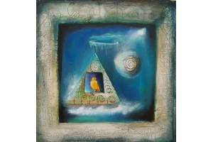 "Felix Albus  ""Glacial canary"" 2007"