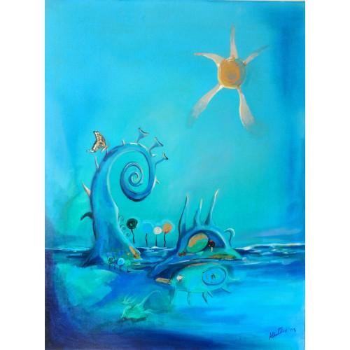 "Felix Albus  ""Blue Fantasy 4"" 2003"