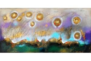 "Felix Albus ""Grandiosity -NPD"" 2017 100cm x 50cm, Acrylic on canvas"
