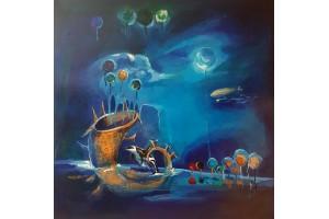 "Felix Albus  ""Blue Fantasy 3"" 2003"