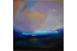 "Felix Albus ""When time stops"" Acrylic on canvas, 100cm X 100cm, 2018"