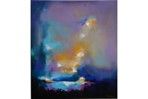 "FelixAlbus ""7th Dimension"" Acrylic on canvas, 90cm X 80cm, 2018"