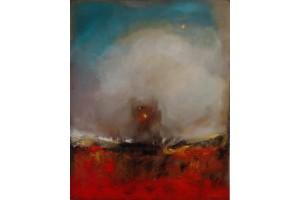 "FelixAlbus ""The land of nowhere"" Acrylic on canvas, 100cm X 80cm, 2018"
